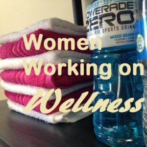 women working on wellness