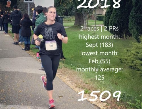 2018 Reflection on Running