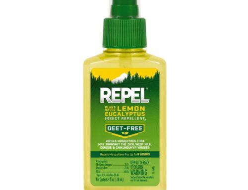 Our favorite bug spray: REPEL Lemon Eucalyptus