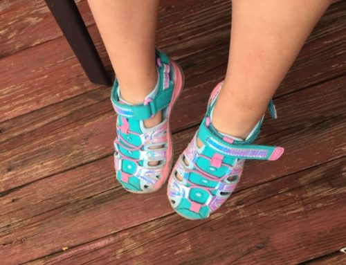 "Snag Baby Diva's ""Hiking Shoes""."