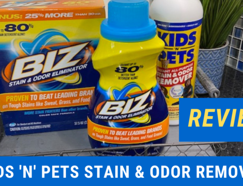 REVIEW – Using KIDS'N'PETS Stain and Odor Remover in our new Dream Home